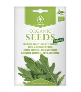 Rúcola cultivada, semillas ecológicas Minigarden