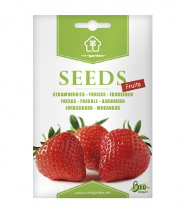 Fresas, semillas Minigarden