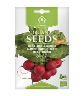 """Rabanito """"Saxa 2"""", semillas ecológicas Minigarden"""