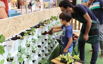 Workshops de Horticultura para niños y adultos – Huerto Vertical